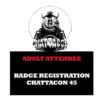 Chattacon Adult Registration