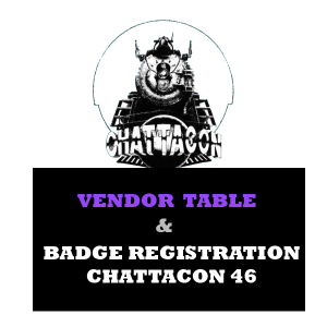 Chattacon 46 Vendors' Registration
