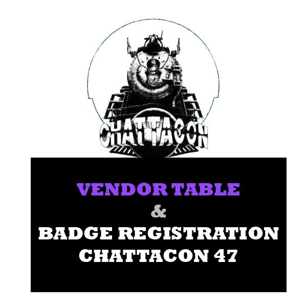 Chattacon 47 Vendor Registration
